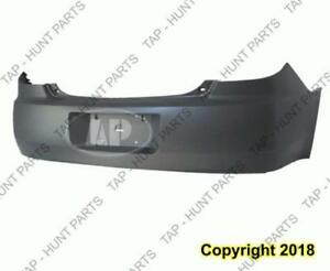 Bumper Rear Primed Sedan Ex-Gxp Model Capa PONTIAC G6 2005-2010
