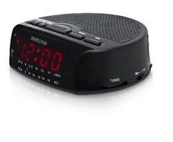 Memorex Am/fm Radio Large Red LED Display Alarm Clock - Black (MC0509BK) [LN]™