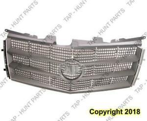 Grille Chrome/Silver Exclude Cts-V Without Crest/Wreath Cadillac CTS 2008-2011