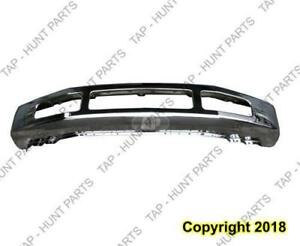 Bumper Face Bar Front Chrome F250/F350 Without Flare Hole Ford F250 F350 F450 F550 2008-2010