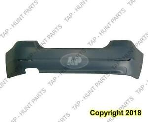 Bumper Rear Primed Without Sensor Without M Package (528I Model) CAPA BMW 5-Series 2011-2013