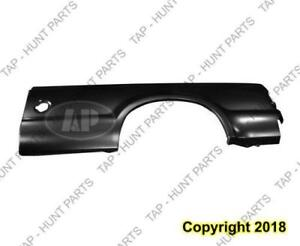 Outer Bedside Panel Rear Driver Side (8 Foot Bed With Single Rear Wheel) CAPA Ford F250 F350 F450 F550 1999-2003