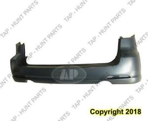 Bumper Rear Wagon Primed Without Turbo CAPA Mazda 6 2006-2008