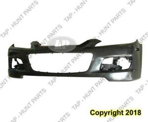 Bumper Front With Turbo Primed [From 02/01/2006 To 2008] Mazda 6