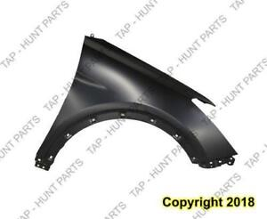 Fender Front Passenger Side (Without Side Lamp Hole) Steel Gls/Ltd Passagers Capa Hyundai Santa Fe 2006-2007