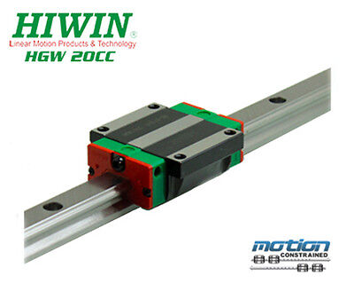New Hiwin Hgw20cczac Flange Block Linear Guides Hgw20 Series Up To 4000mm Long
