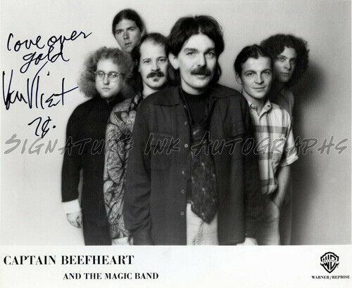 Don Van Vliet Captain Beefheart signed Vintage Promotional 8x10 Photo reprint