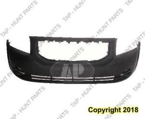 Bumper Front Primed Without Fog Lamp Hole Exclude Srt High Quality Dodge Caliber 2007-2012