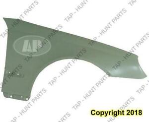 Fender Front Driver Side Clk Models (Without Side Lamp Hole) Steel Mercedes C-Class 2003-2007