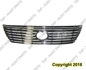 Grille Primed-Gray Without Pre-Collision Lexus LS430 2004-2006