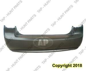 Bumper Rear Primed Without Chrome Package Kia Optima 2006-2008