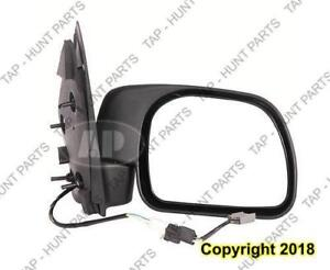 Door Mirror Power Passenger Side Puddle Type  Ford F250 F350 F450 F550 2001-2003