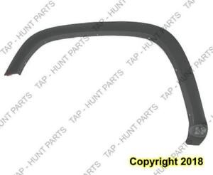 Fender Flare Front Driver Side Dark Gray Textured Base Model Thin Chevrolet Colorado 2004-2012