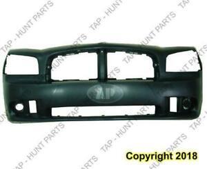 Bumper Front Primed With Srt-8 CAPA Dodge Charger 2006-2010