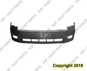 Bumper Front Primed Black With Sport Model With Fog Lamp Hole Ram1500 Dodge Ram 2009-2012