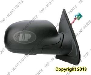 Door Mirror Power Passenger Side Heated Without Signal Manual Folding Black Standard Chevrolet Trailblazer 2004-2009