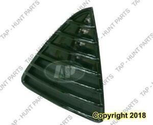 Grille Lower Front Passenger Side Ptd Black Se Sel Titan Model Ford Focus 2012-2014