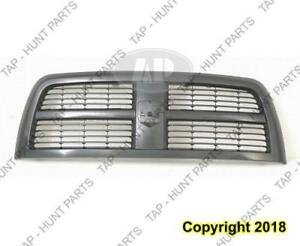 Grille Black With Black Primed Frame 2500 Dodge Ram 2010-2012