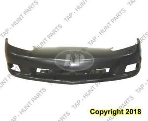 Bumper Front Base Without Headlamp Wash Hole Primed Oem Chevrolet Corvette 2005-2010