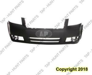 Bumper Front Primed (Sxt Model) Without Built-In Grille Dodge Grand Caravan 2008-2010
