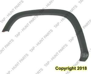 Fender Flare Front Driver Side Dark Gray Textured Base Model Thin GMC Canyon 2004-2012