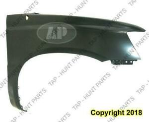 Fender Front Passenger Side With Antenna Hole CAPA Toyota Highlander 2001-2007