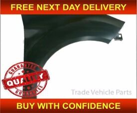 Ford Fiesta 3 Door Hatchback 2013- Mk7 O/S Front Wing NEW HIGH QUALITY FREE DELIVERY