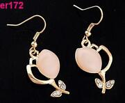 Opal Earrings Gold