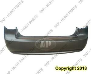 Bumper Rear Primed Without Chrome Package CAPA Kia Optima 2006-2008