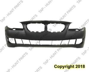 Bumper Front Without Sensor/S/Cam Hole Primed Sedan Without M Package CAPA BMW 5-Series 2011