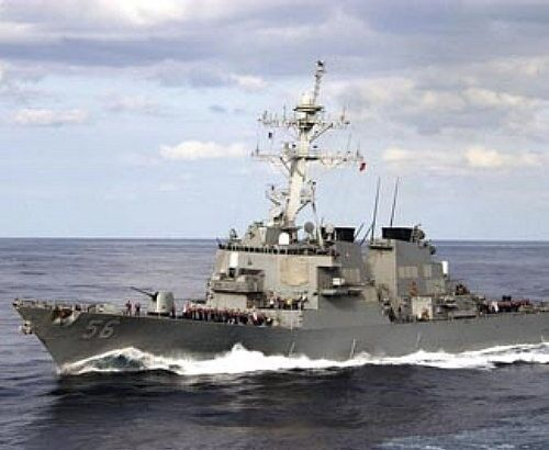 USS JOHN S. McCAIN DDG-56 Detroyer US NAVY picture poster 8x10 photo