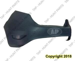 Bumper Rear Primed Hatchback CAPA Ford Fiesta 2011-2013