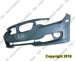 Bumper Front With Sensor/Wash/Cam Without Aid Hole With Moulding Hole Primed [Sedan 2012-2015] [Wagon 2014-2015] CAPA BM