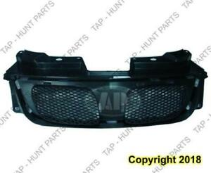 Grille Upper Matt-Black PONTIAC G5 2005-2009