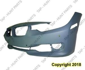 Bumper Front With Sensor/Cam Without Wash/Aid Hole With Moulding Hole Primed [Sedan 2012-2015] [Wagon 2014-2015] BMW 3-S