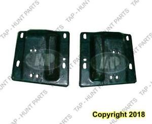 Bumper Bracket Front Driver Side Without Tow Hooks Beam To Frame Steel 1500 Dodge Ram 2002-2005