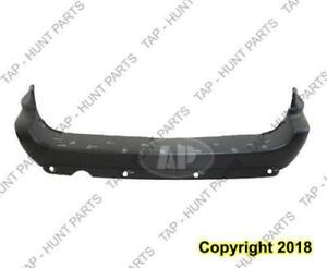 Bumper Rear Primed 119 Wb With Sensor Hole CAPA Chrysler Voyager 2005-2007