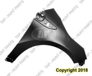Fender Front Passenger Side Without Side Lamp Hole With Charge Ho Chevrolet Volt 2011-2015