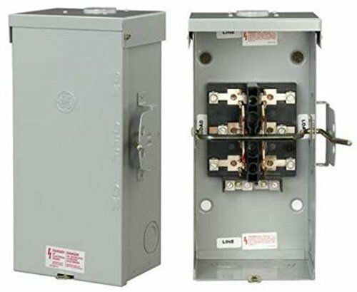 GE Industrial TC10323R 3 Wire 2 Pole Non-Fusible Emergency Power Transfer Switch