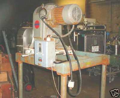 11157-001 Fitzmill Model Jt6 Homiloid Mill Stainless Steel