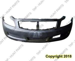 Bumper Front Without Sport With Tech Sedan Infiniti G35 2007-2008