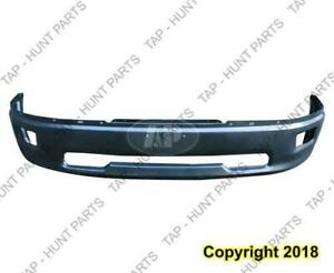 Bumper Front Primed 09-12 1500 Without Sport With Fog Light Hole Dodge Ram 2009-2012