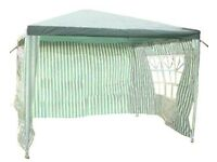 Garden Gazebo With 4 Sides 3 x 3m **** Brand New, Boxed ****