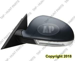 Door Mirror Power Driver Side Heated With Folding Volkswagen Passat 2003-2005