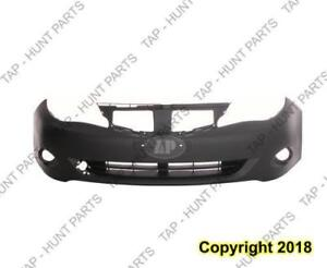 Bumper Front Primed Without Lower Lip With Round Fog (Impreza/Wrx) Subaru Impreza 2008-2011