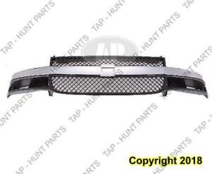 Grille Chrome Grey With Composite Head Light Chevrolet Express Van 2003-2015