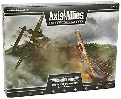Axis and Allies - (Bandits High) Two-Player Starter Set WOTC - NEW