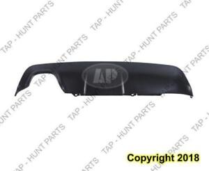 Valance Lower Rear Primed Gray With M Package Without Tow CAPA BMW 5-Series (E60) 2006-2010