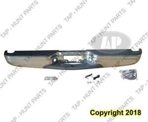 Bumper Rear Chrome Assembly Styleside Ford F150 1997-2003