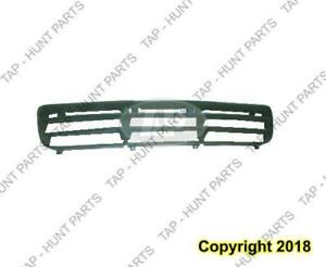 Grille Lower Center Black 1 Pc Volkswagen Jetta City 2007